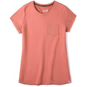 Smartwool Merino Sport 150 Pocket Tee Women canyon rose
